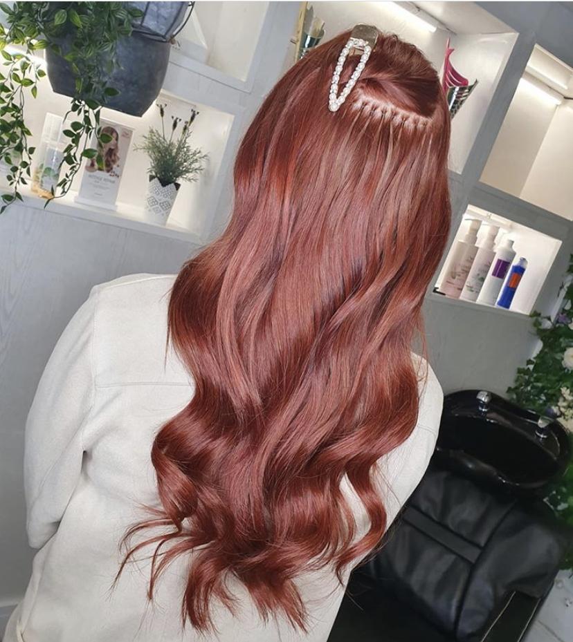 Hair Extension Individual Method